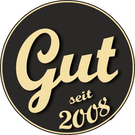 GUT seit 2008 Icon-Logo Guter Stoff fair organic vegan