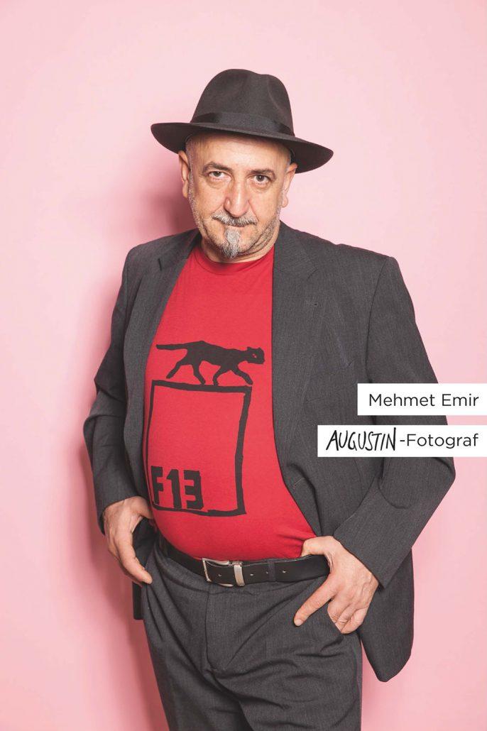 Augustin F13 T-Shirt Werbemotiv Mehmet