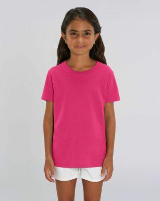 Kinder T-Shirt Bio Fair Mini Creator Raspberry